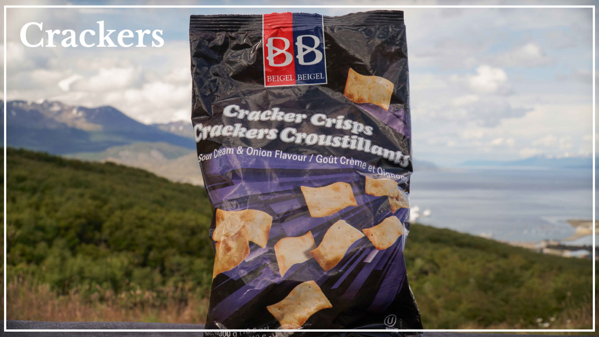 Onion and cream flavor crackers