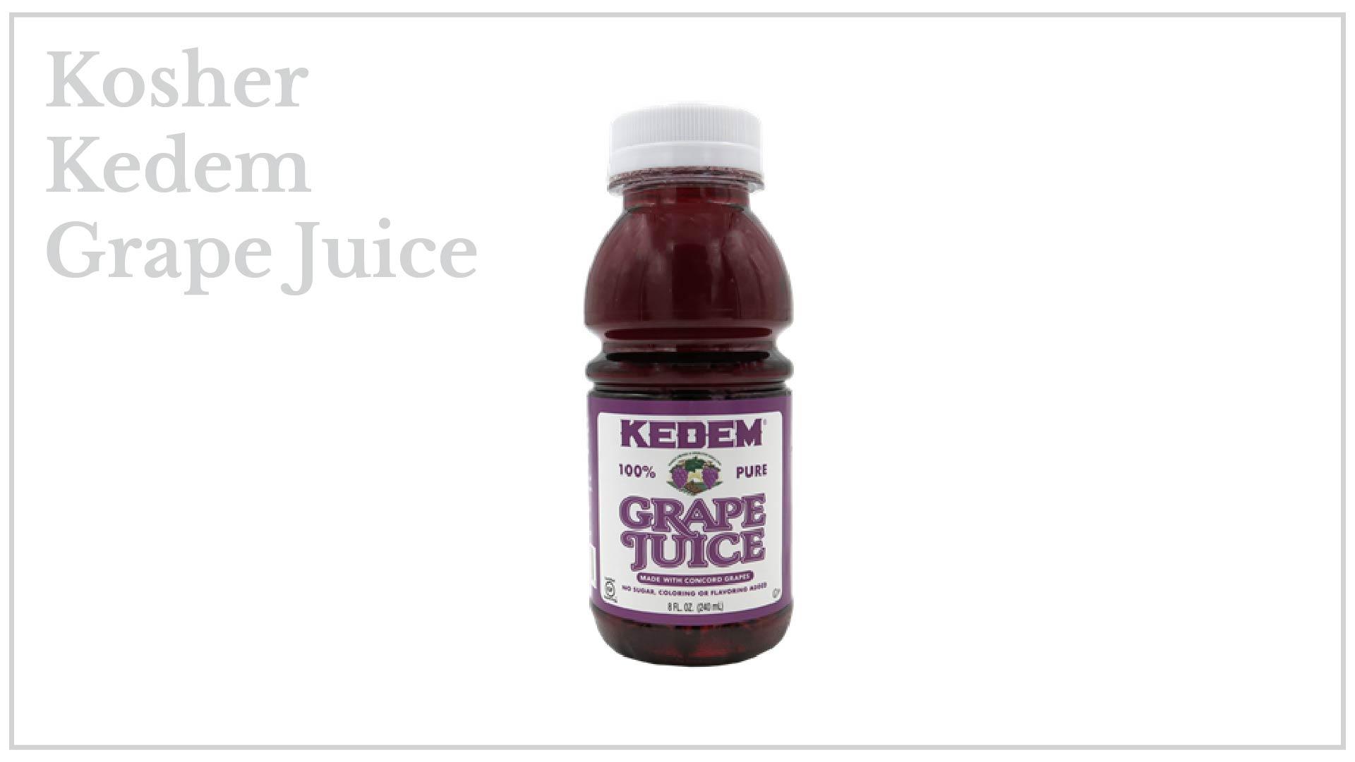 Kosher Kedem Grape Juice