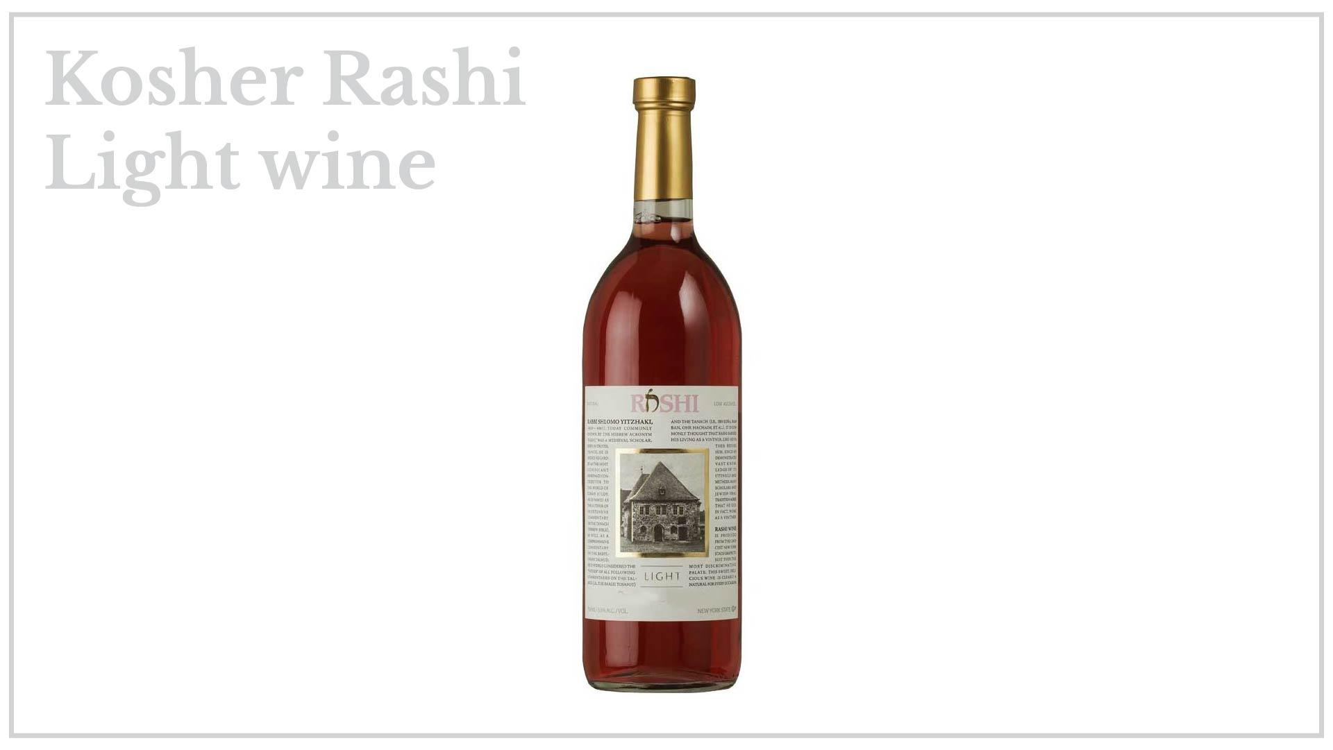 Kosher Rashi - light wine