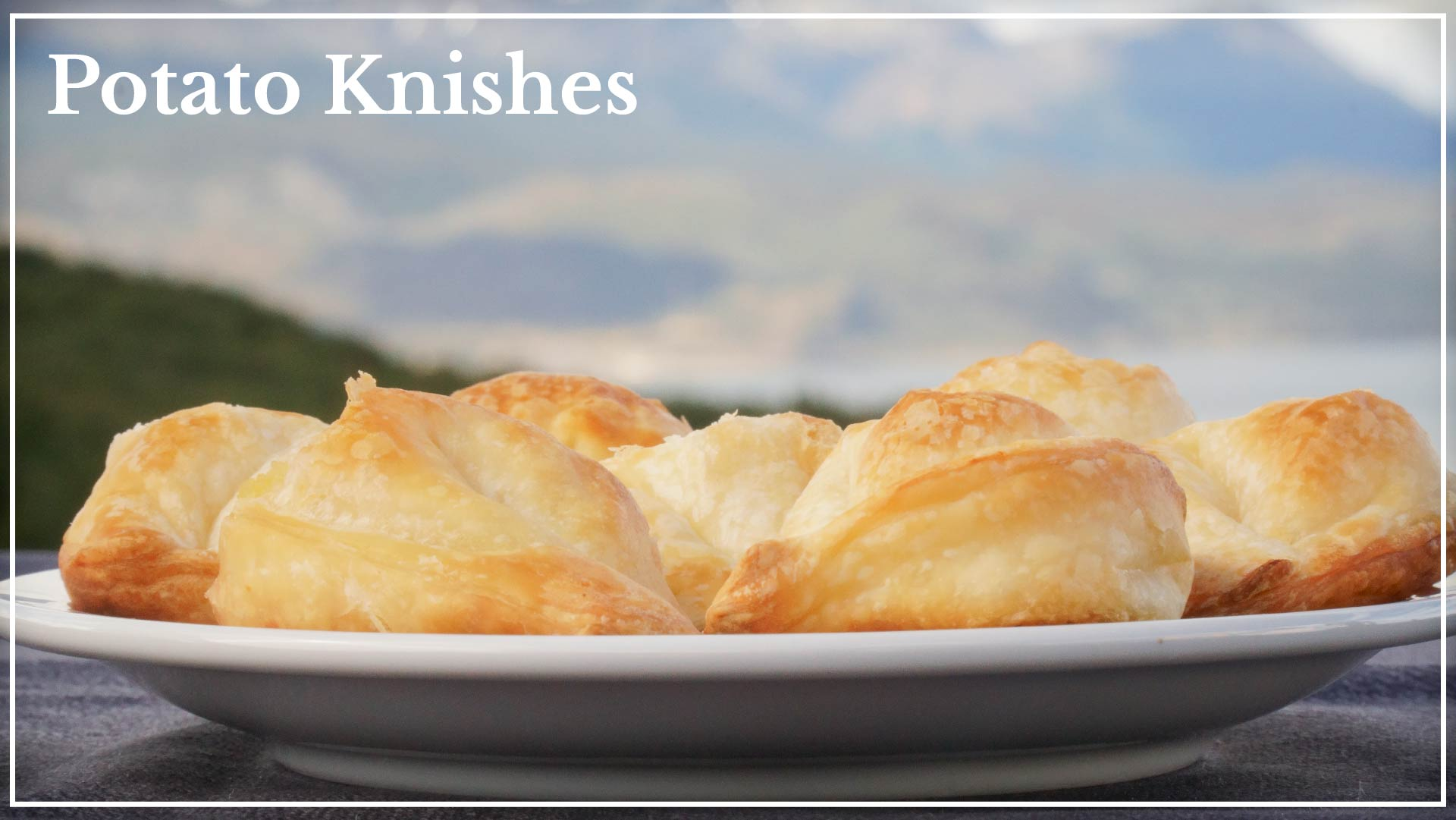 Potato Knishes - based on potatoes and onions